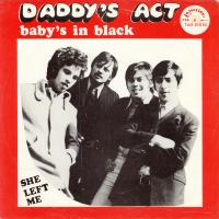 SINGLE - Daddy's Act Baby's in black