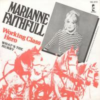 SINGLE - Marianne Faithfull Working class hero