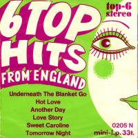 EP - Alan  ? Caddy 6 Top Hits from England