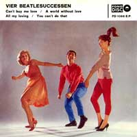 EP - Stars Vier Beatlesuccessen  (photo Paul Huff )