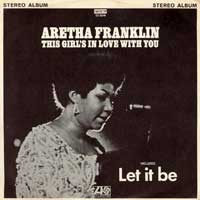 EP - Aretha Franklin Let it be     6tr. mini lp with JUKEBOX -Tags