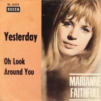 SINGLE - Marianne Faithfull Yesterday