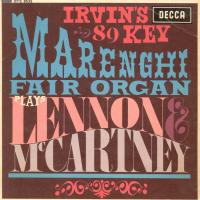 EP - Irvin's 89 Key Marenghi Fair Organ Plays Lennon & McCartney