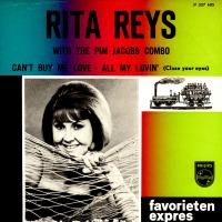 SINGLE - Rita Reys Can't buy me love / All my lovin'