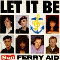 SINGLE - Ferry Aid Let it be     incl. Paul