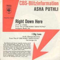 SINGLE - Asha Puthli I dig love