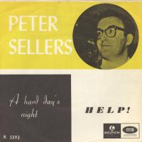 SINGLE - Peter Sellers A hard day's night / Help!