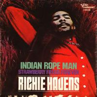 SINGLE - Richie Havens Indian rope man / Strawberry fields