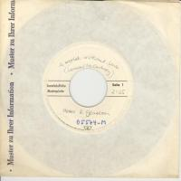 SINGLE - Peter & Gordon A world without love  (white label Promo)