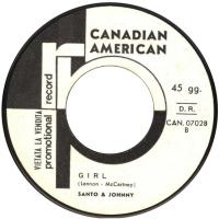 SINGLE - Girl - by: Santo & Johnny