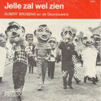 SINGLE - Albert Brosens Jelle zal wel zien (Yellow Submarine)