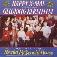 SINGLE - Artists for Ronald McDonald House Happy X-mas / Gelukkig Kerstfeest