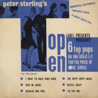 EP -  Top Ten Label Peter Sterling's 6 Top Pops on one great E.P.