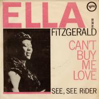 SINGLE - Ella Fitzgerald Can't buy me love