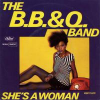 SINGLE - B.B. & Q. Band She's a woman