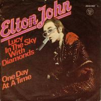SINGLE - Elton John Lucy in the sky with diamonds