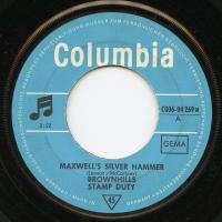 SINGLE - Brownhills Stamp Duty Maxwell's silver hammer