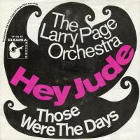 SINGLE - Larry & Orchestra Page Hey Jude