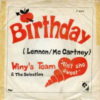 SINGLE - Winy's Team & The Selection Birthday